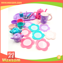 Educational plastic DIY colorful fruit cake toy for kids
