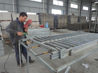 Welding (Wall Panel Production Line)