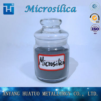 Micro Silica Powder for Concrete Mortar Cement Densified Microsilica