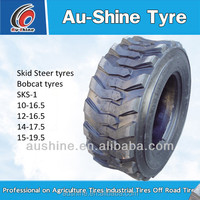aushine china cheap bobcat tires 10.16.5 12.16.5
