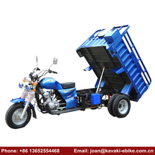 Top Sale Five Wheel Heavy Duty Motor Cycle Cargo Tricycle 250cc Water Cooled Gasoline Automatic Motorcycle