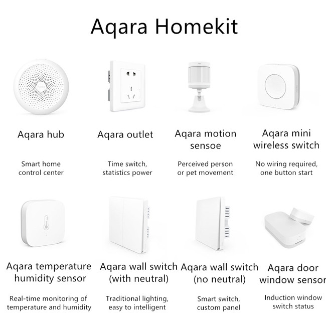 Latest design aqara mini switch zigbee wireless switch module