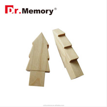 Dr.memory FREE sample wood wooden usb memory cards flash drive christmas tree shape usb pen drive gedget for promotion with logo