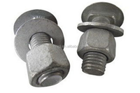 Guardrail nuts and bolts, security facilities Highway guardrail bolt