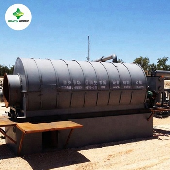 Newest Type Waste Tire /Tyre/Rubber Recycling Pyrolysis Machine To Oil With CE ISO SGS