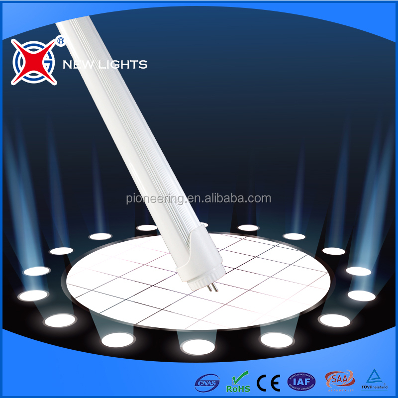18W integrated led tube, High lumen tube led, 1800lm 120cm t8 led tube