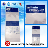 Plastics Supermarket OPP Header Card Packaging Bag For Balloons