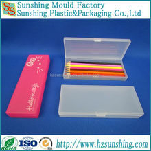 Factory price clear plastic box ballpoint pen packaging case