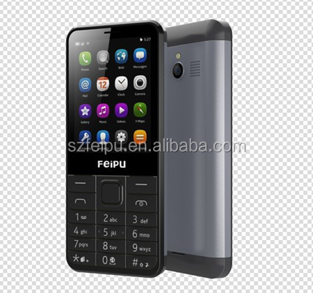 "2.8"" inch dual sim dual standby feature mobile phone with 4L stong battery 1500mah"