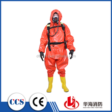 PVC Light-Duty Chemical Protective Suit for Firefighters