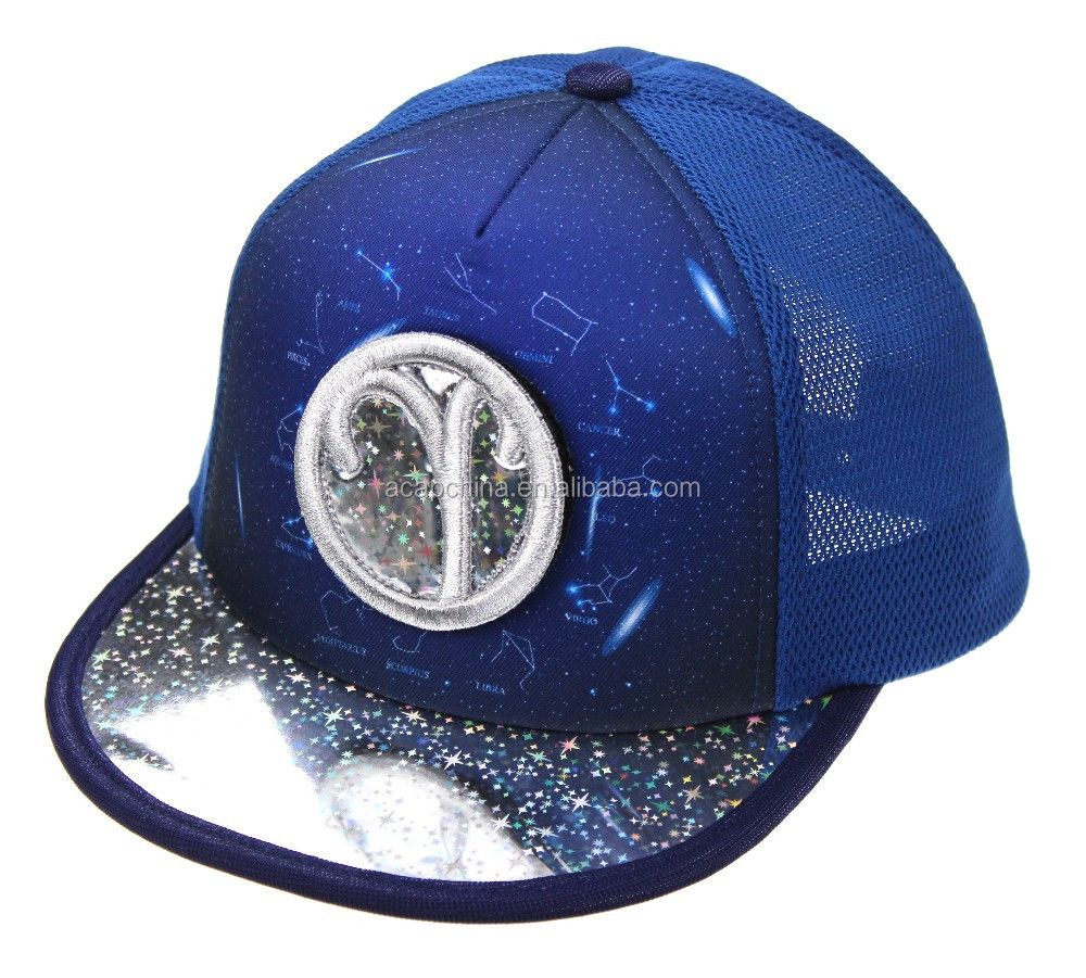 Sublimation Printed Trucker Hat For Children