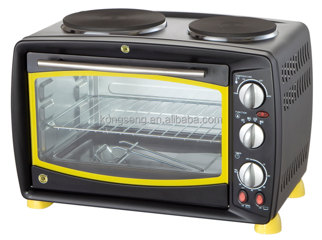 approval CE 26L stainless steel housing toaster baking oven in best price