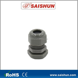 IP68 CE ROHS UFV Resistant Nylon cable gland