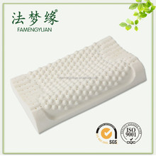 Wholesale sleep latex foam pillow shiatsu massage pillow with hole,100% natural pillow latex alibaba in spanish,gift
