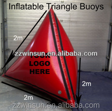 2015 Triangle Advertising Swim Inflatable Buoy