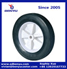 Solid lawn mower wheels and rims