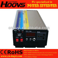 600W solar inverter with built-in charge controller pure sien wave