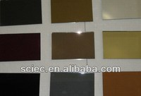colored mirror glass sheet with AS/NZS2208:1996