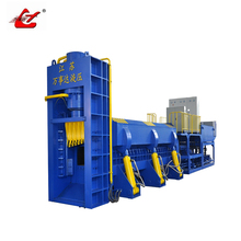 Professional Semi-Automatic mobile shear compressing scrap cans and car