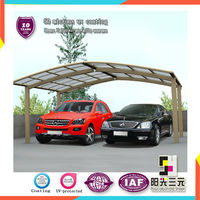 types of car shelter ;polycarbonate hollow sheet