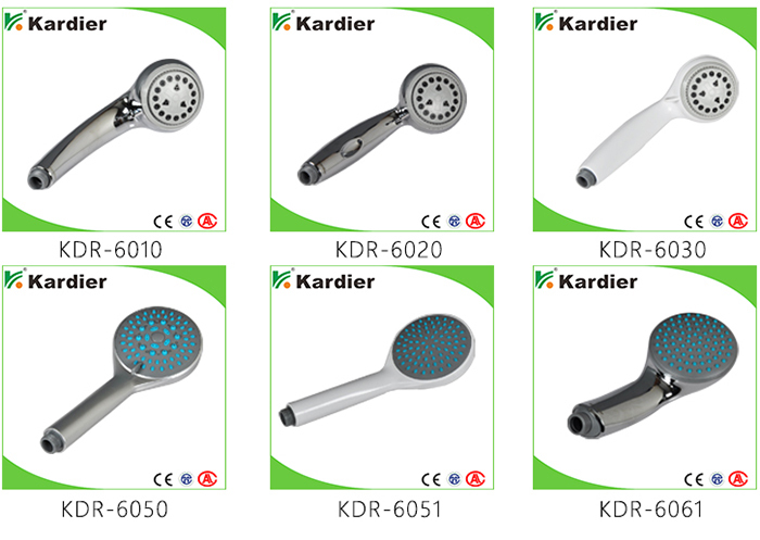 High quality water saving shower heads