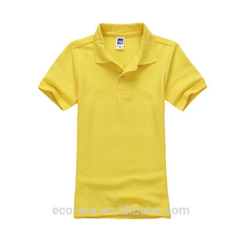 Custom Cut 100% Cotton Polo Shirt Children Summer Clothes