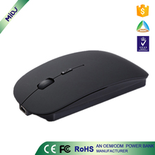 M-S02 2017 Hot selling charging mode 2.4g wireless optical mouse with mini receiver