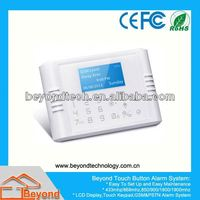 Alarm Security For Building with PSTN GSM Network
