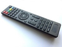 nobel tv remote control with stylish wiredrawing surface
