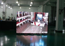 Indoor installation P6 mm led display screen rental