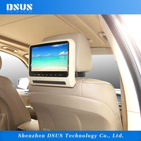 9 inch headrest dvd player car lcd monitor with hdmi input