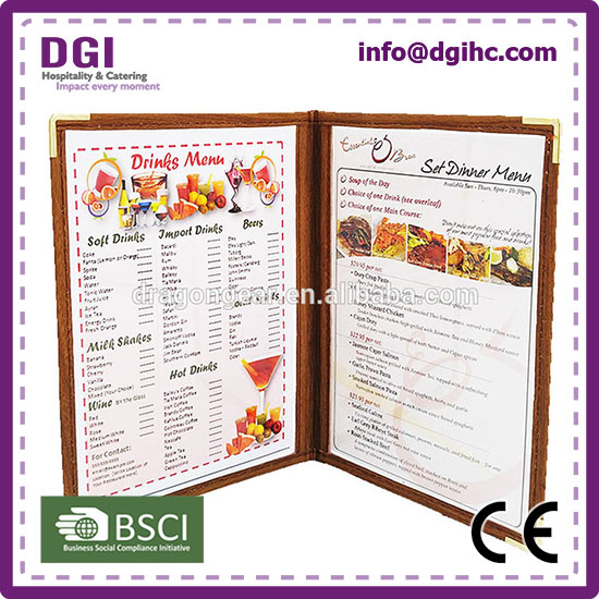 For Japan Market creative menu design with samples available