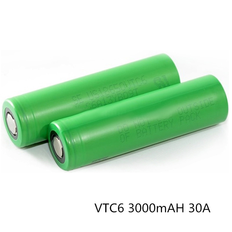 original for sony vtc6 3.7V 3000mah li ion rechargeable dna vape battery 18650 dna 200