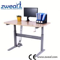 high quality sit and stand electric height adjustable table factory wholesale