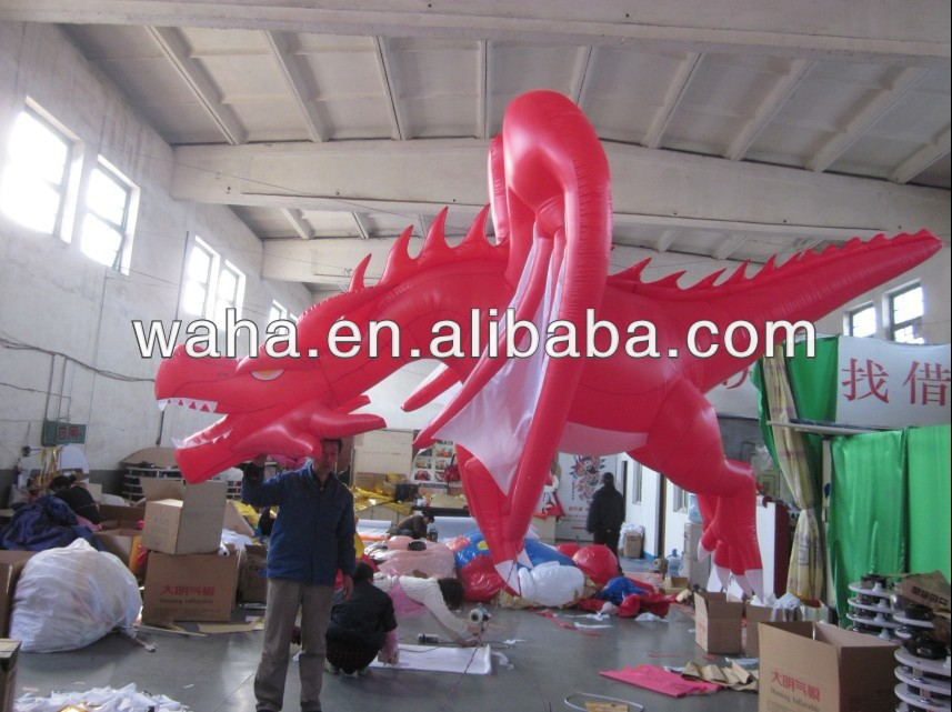 Event party cartoon/inflatable fly dragon