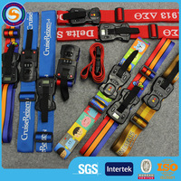Plastic Buckle Luggage Suitcase Backpack Baggage Belt Strap, tsa lock luggage belt strap