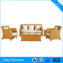 Modern Rattan Furniture Terrace Sofa Set