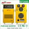 Low frequency pure sine power inverter 230v 12v 2000w battery charger inverter
