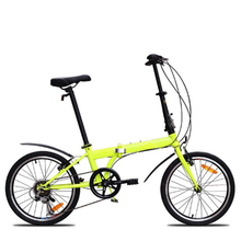 Bicycle factory sales 20 inch 6 speed gift folding bike