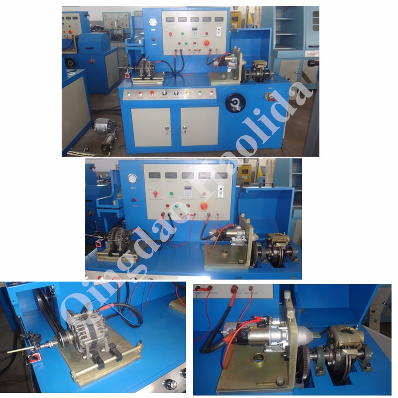 Bench Testing A Starter Motor: Automobile Alternator Starter Test Bench, View Starter