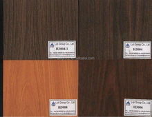 3mm/18mm cherry color melamine paper laminated particle board with one side or two sides