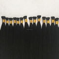 Wholesale 100% Virgin Remy Human Hair 0.5/0.8/1.0g Italian Keratin I Tip Brazilian Hair Extensions