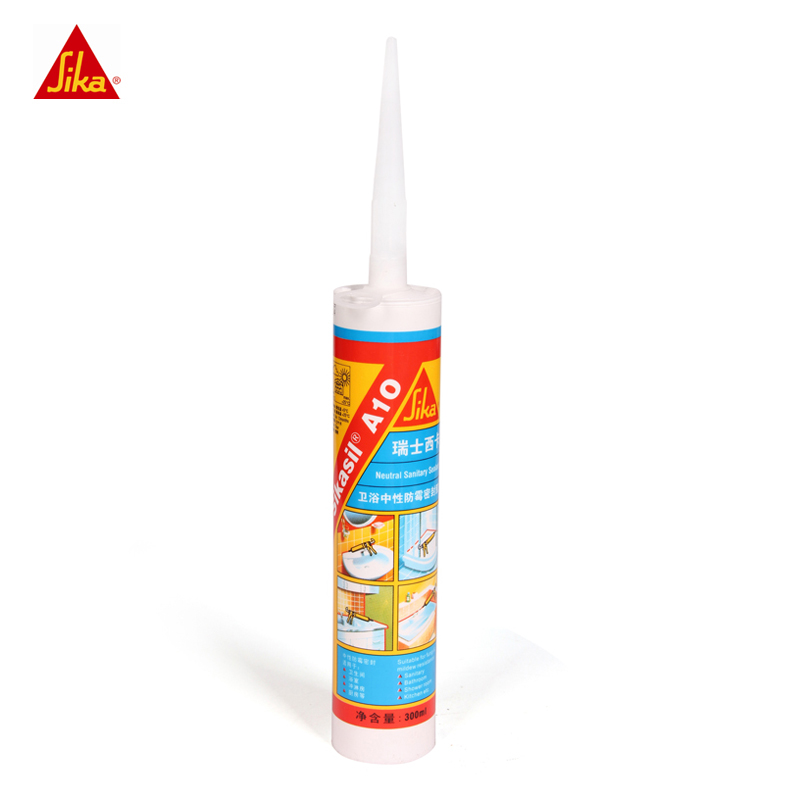Sika anti-fungus silicone sealant use for sanitary ware installation