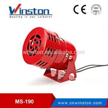 Mini motor siren MS190,electric siren,MS-190 Alarm