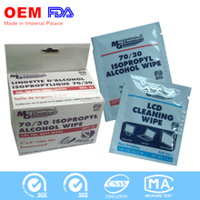 IPA Single Wet Wipe alcohol pad for US Market