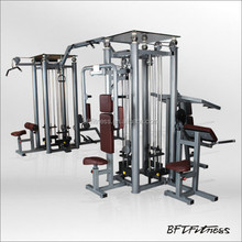 BFT-2080 commercial multi station gym,8 multifunction gym,sports equipment