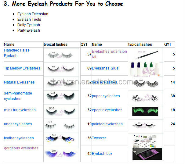 Customized Private Label 3D Real Mink Fur False Eyelash