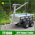 Wood winch car trailer sale