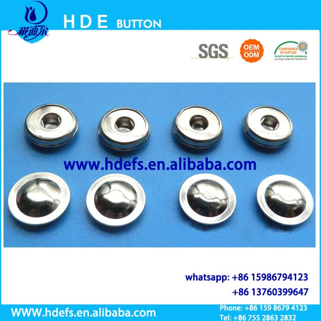 Electrode medical button