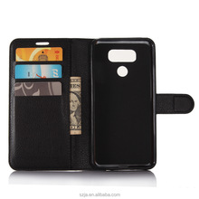 2017 custom leather phone case for lg g6 mini g6mini Flip Leather Case For LG G6 mini Mobile Phone Bags Cover